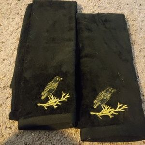 Other - 2 bird hand towels